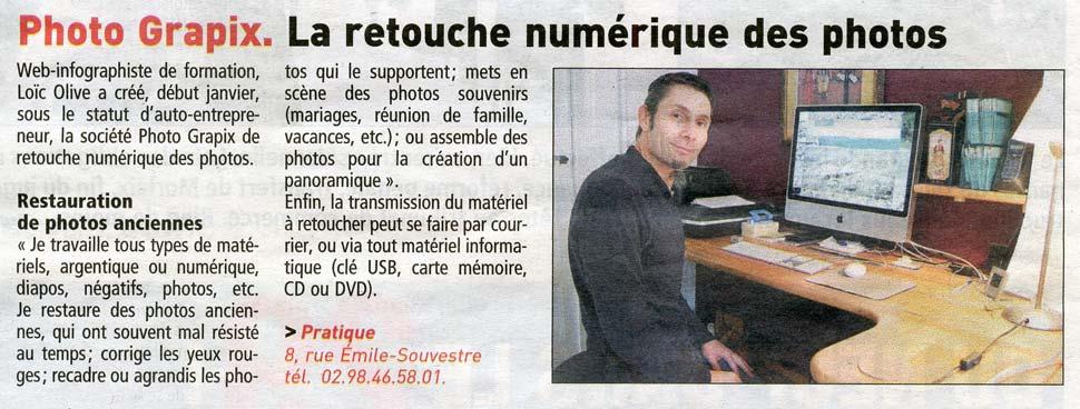 Article Le Telegramme Photograpix