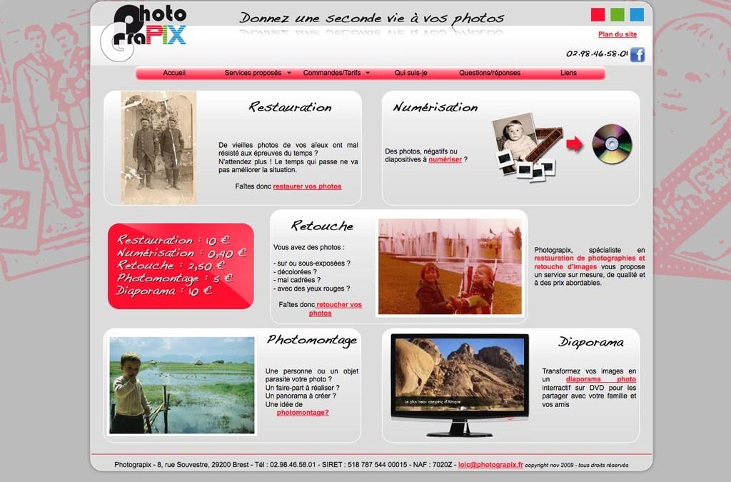 Nouveau site pour Photograpix