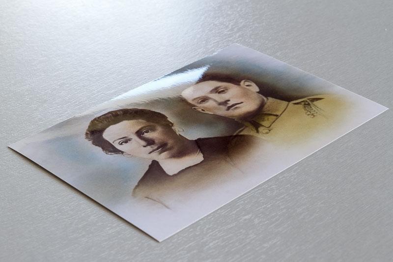 Tirage photo papier brillant
