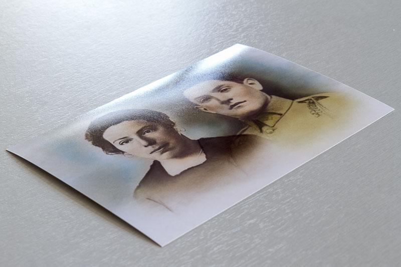 Tirage photo papier lustré