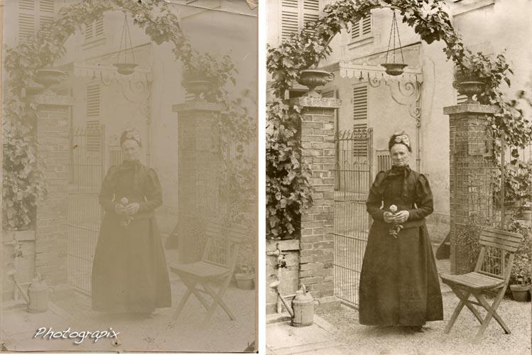 Pourquoi la qualité de la numérisation est-elle si importante dans la restauration d'une photo ?