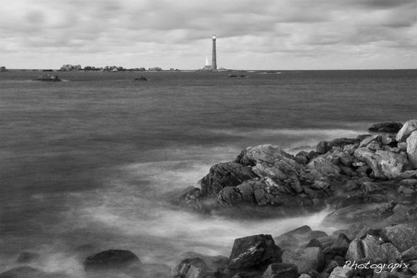 Photo en noir et blanc avant virage des couleurs