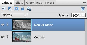 Calques Photoshop Elements