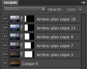 Fenêtre calques de Photoshop Elements