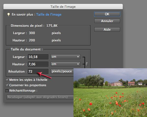 Qu'est ce que la résolution, la taille et la définition d'une photo et comment changer ces 3 paramètres facilement ?