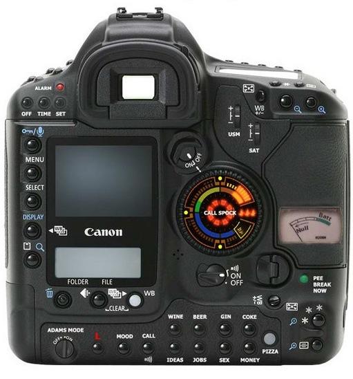 nouveau réflex Canon