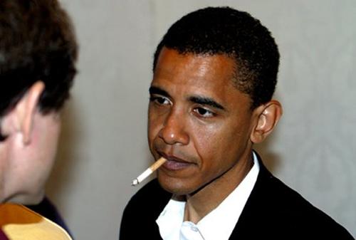 Obama fumeur ?