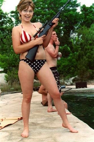 Sarah Palin en bikini
