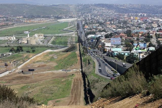 frontière USA Mexique