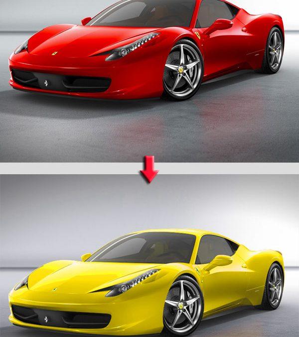 Comment changer la couleur d'un élément de votre photo ?