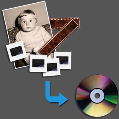 Numérisation négatifs, diapositives et photographies