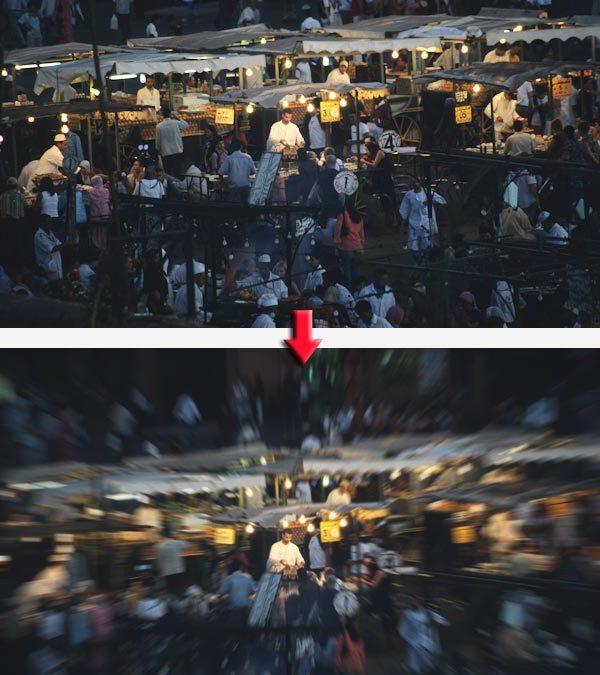 """Effet """"Coup de zoom"""" : donnez une impression de vitesse à vos photos"""
