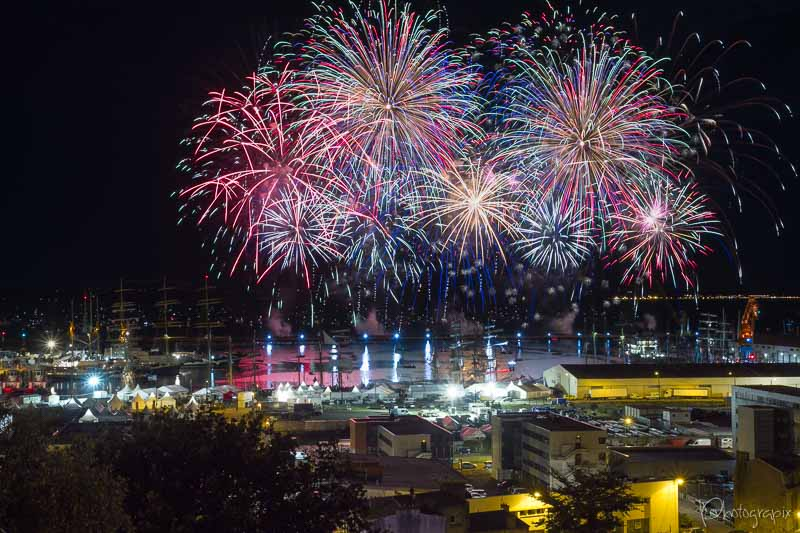 Feu d'artifice Brest 2016