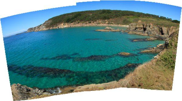 Panorama sphérique réalisé par Photomerge