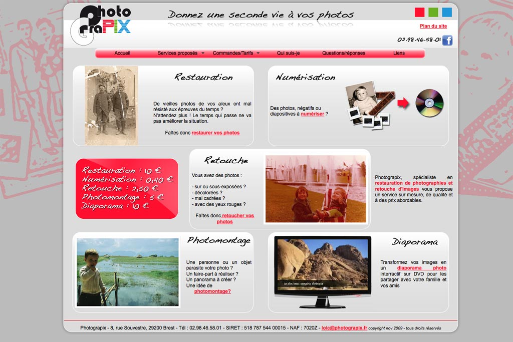 ancien site de Photograpix