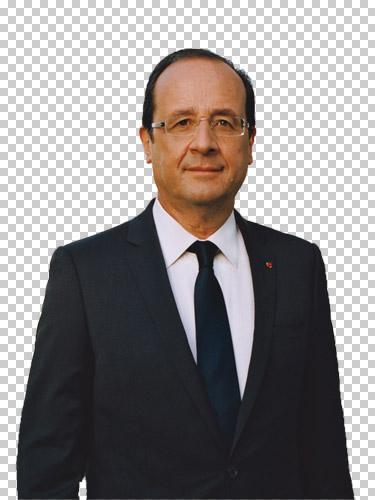 François Hollande détouré