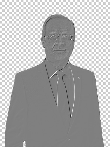 François Hollande flou