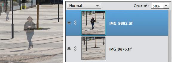 Fenêtre calque Photoshop Elements