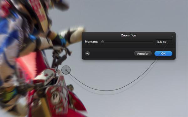 Fenêtre zoom flou de Pixelmator