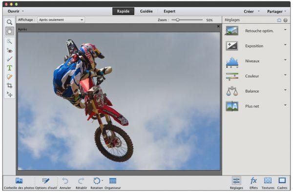 Mode-Rapide-Photoshop-Elements