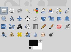 Les outils de Gimp