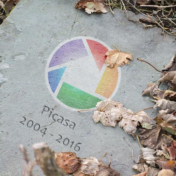 La fin de Picasa par Google…