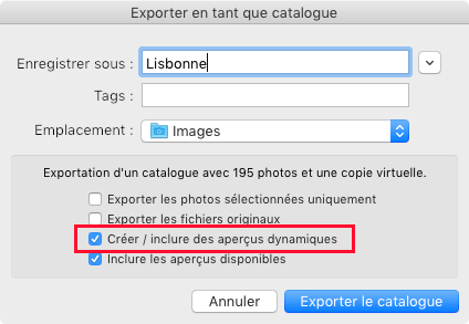Lightroom-export-catalogue