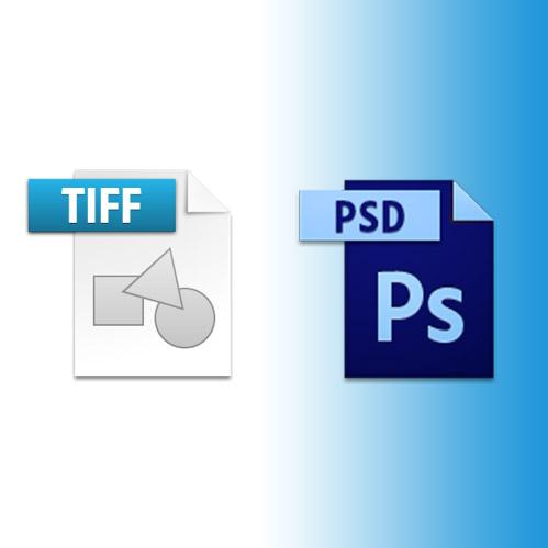 Alors, TIFF ou PSD pour enregistrer ses retouches de photos ?